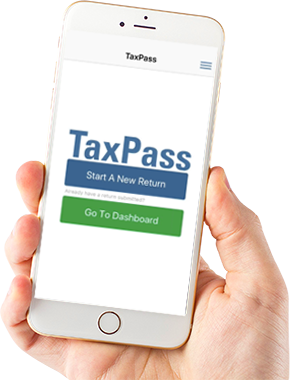 Online Tax Return App iPhone